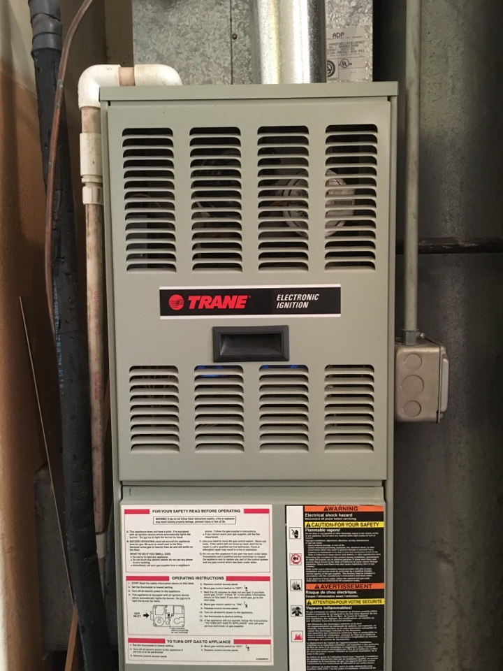 Country Club Hills, IL - Did clean and check and changed out bad flame sensor on Trane furnace