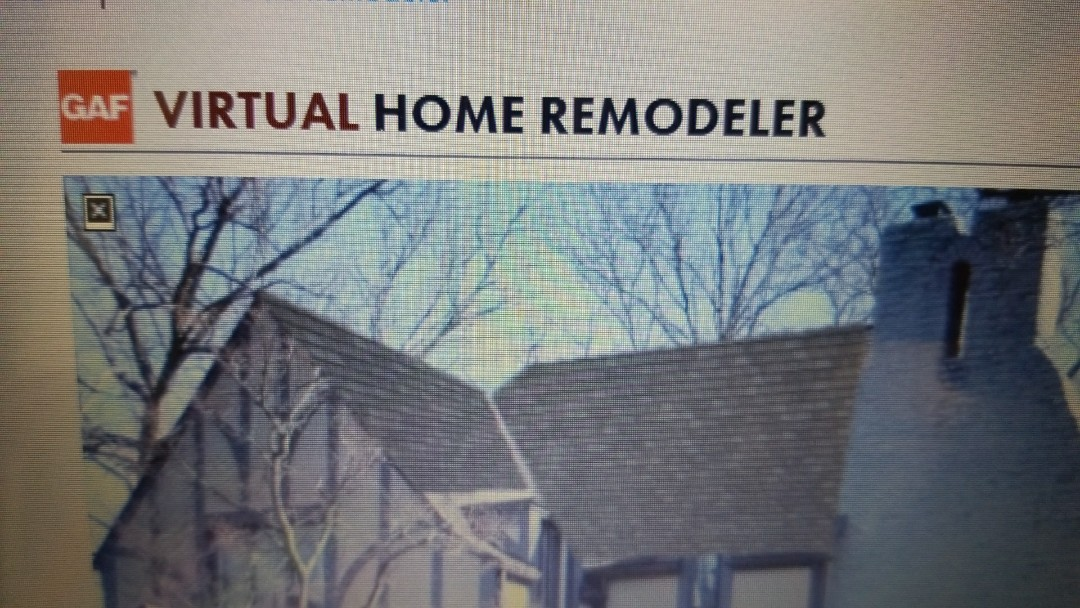 Dayton, OH - At the office in Kettering preparing a roof replacement estimate with GAF Virtual Home Remodeler so I can show the customer what the new roof will look like on their house.