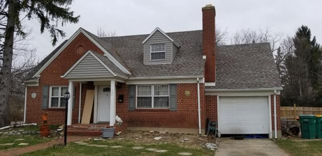 Dayton, OH - Working on a roof replacement quote from storm damage insurance claim.  one layer dimensional tear off with a Gaf timberline hd weathered wood shingles