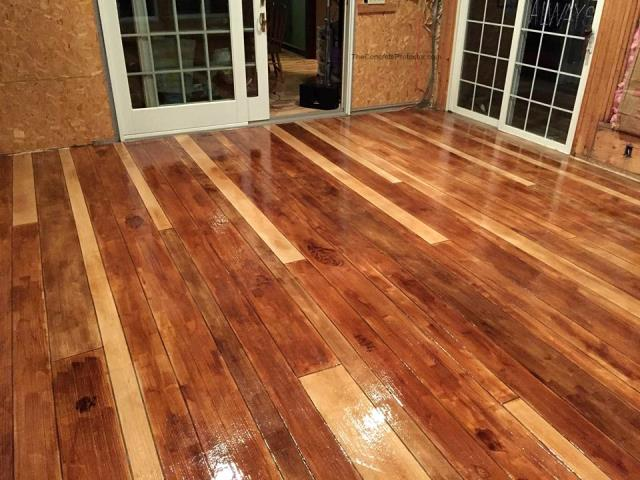 When you choose rustic wood for your floor remodel, you will never go back to basic flooring again!