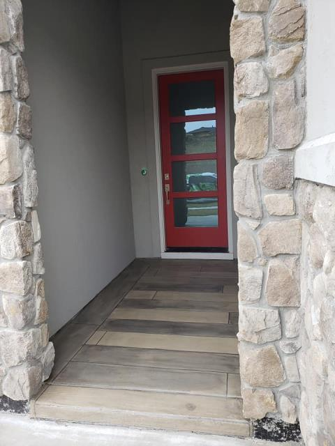 Eagle, ID - 100% satisfied client!! The concrete wood flooring Xtreme Epoxy Idaho did for my porch entryway looks great! My porch had multiple cracks and random discolorations all around it, but Jeremy and his crew came out to fix it as soon as they could! They were extremely easy to work with and were nothing but polite professionals on the job! I would recommend their work to anyone.