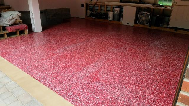Caldwell, ID - Now that's what I'm talking about! That's the kind of quality garage floor I can brag to my friends! I have to say, Xtreme Epoxy Idaho does decorative concrete floors really well. They know their stuff and they know how to bring the quality. 5/5 stars!