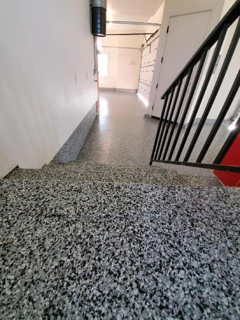 Nampa, ID - Xtreme Epoxy Idaho is a fantastic company to work with!  They are always going above and beyond to ensure that their customers are receiving exactly what they are expecting! The team is professional and can quickly do high-quality work without cutting corners! The result of their hard-working talent was a beautiful GRANIFLEX garage floor and staircase! Very impressed!!