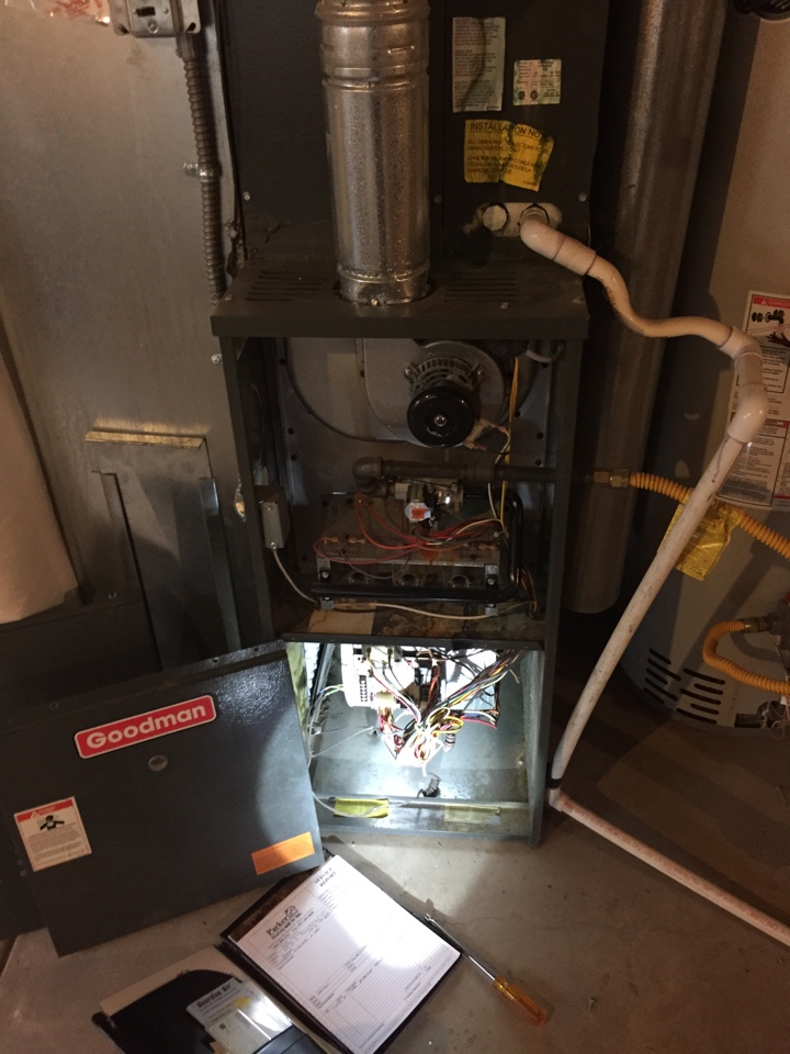 Aurora, CO - Aurora Parkway, Goidman furnace no heat. Annual maintenance, like our Gold Club plan can take care of end of the season breakdowns.