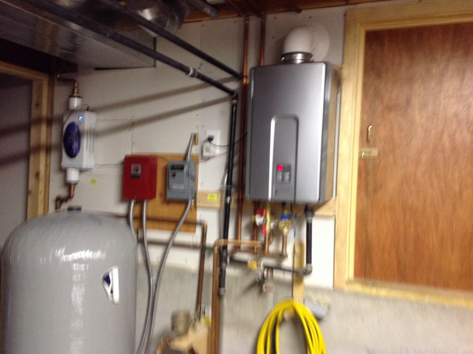 Elizabeth, CO - Seasonal maintenance on furnace,rinnai tankless and air cleaner