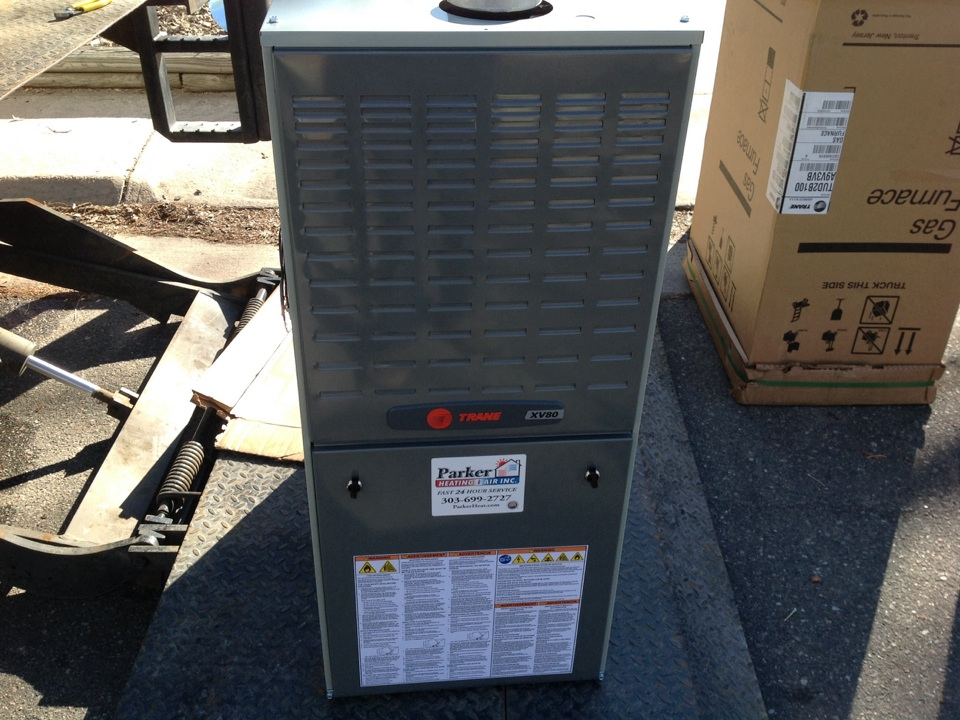 Littleton, CO - Trane furnace install