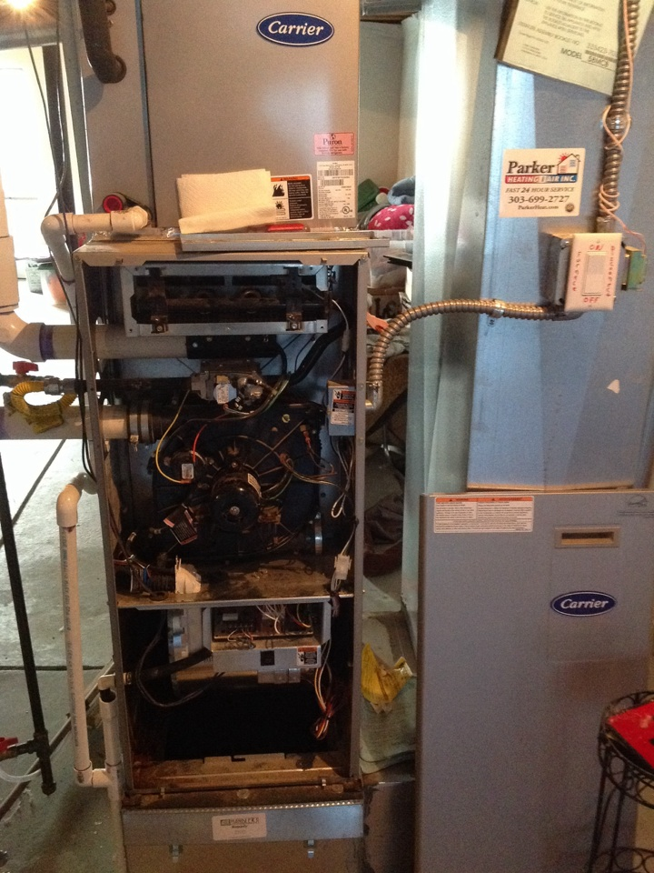 Elizabeth, CO - Carrier furnace no heat repair