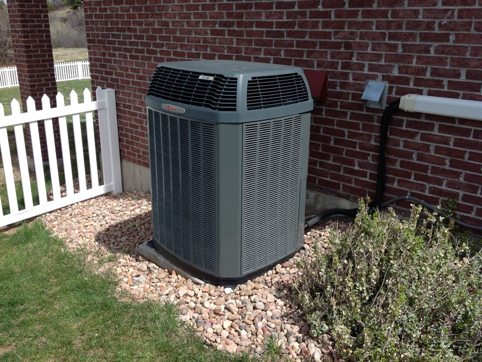 Franktown, CO - Trane heat pump air conditioner annual maintenance Precision tune up in Franktown