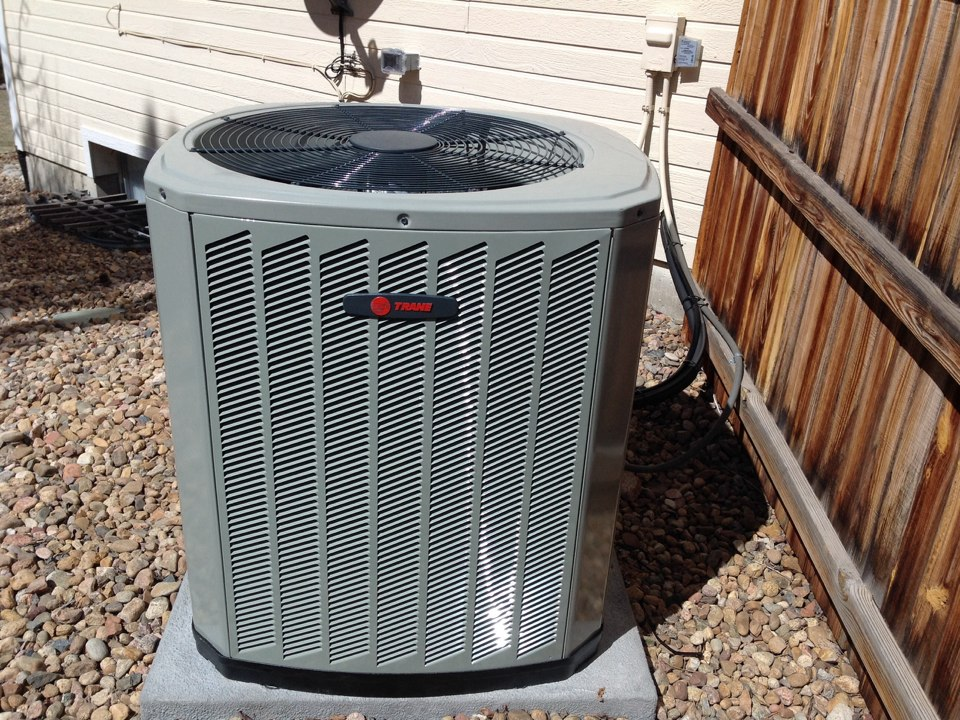 Denver, CO - Trane air conditioner tune up annual maintenance