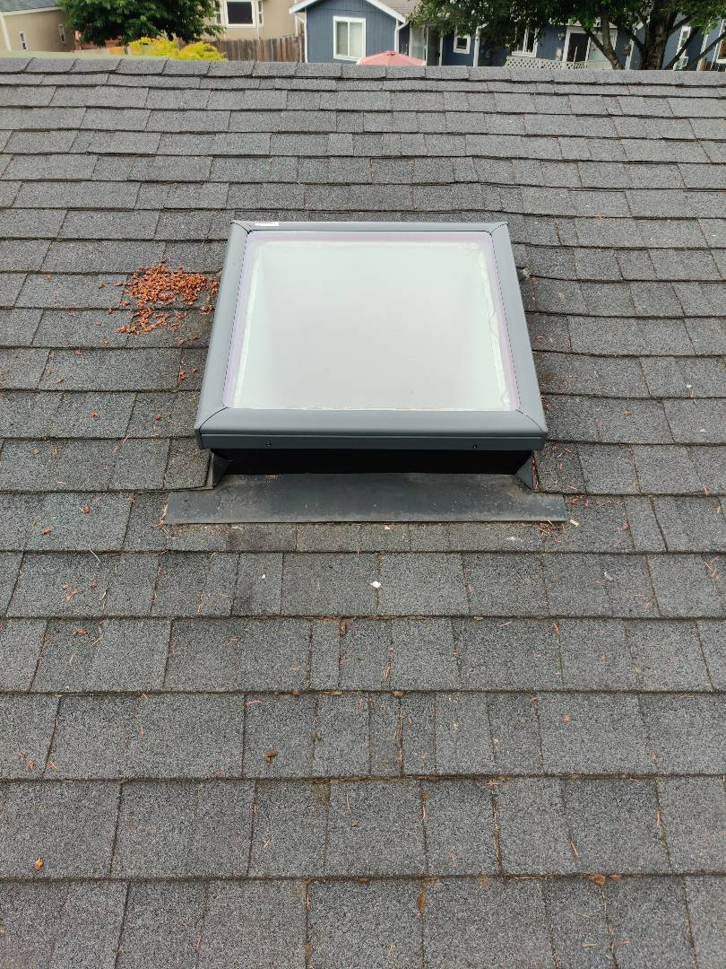 Pacific, WA - Installed a new 2x2 Velux skylight.
