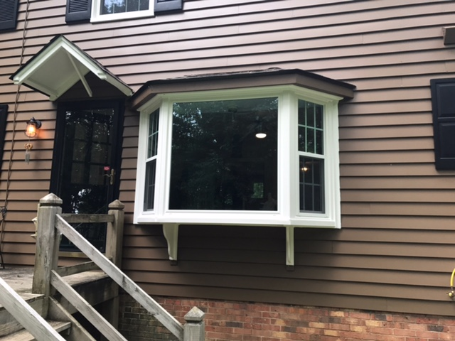Brand new windows on an already beautiful home!