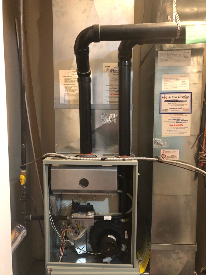 Barrie, ON - Site visit for new Daikin FIT furnace and air conditioner installation we are doing next week for a long time homeowner!
