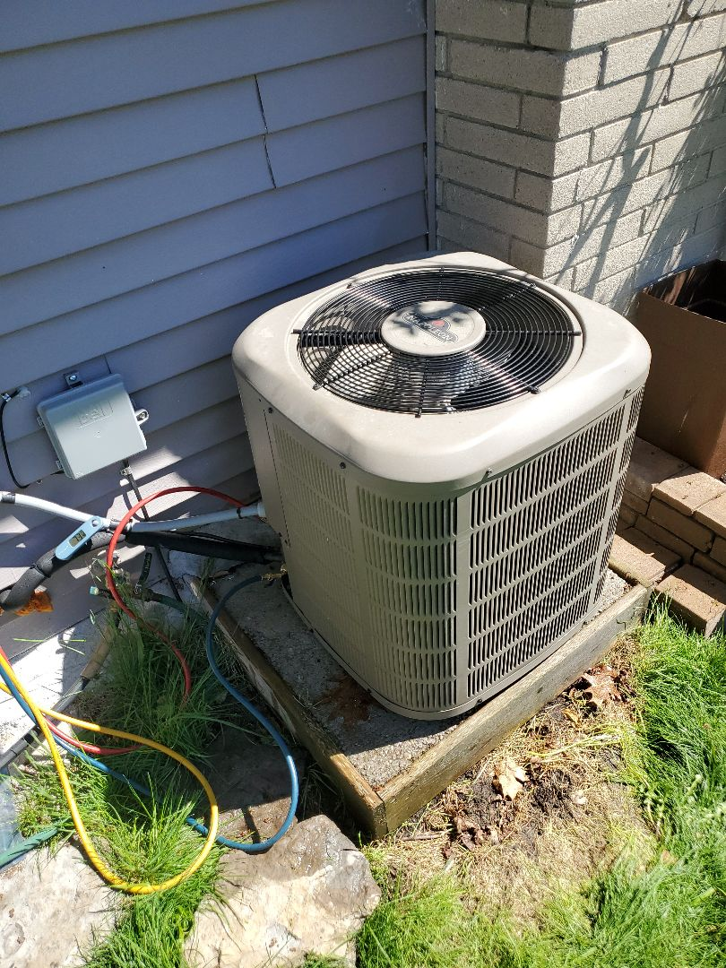 Completed a Napoleon a/c tune-up, for a great family in Belleville, ON.