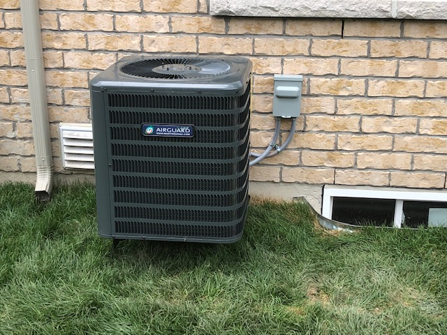 INSTALLED A NEW GOODMAN 2 TON GSX130241 AIR CONDITIONER AND NEST LEARNING THERMOSTAT FOR ONE OF OUR VALUED NEW HOMEOWNERS!