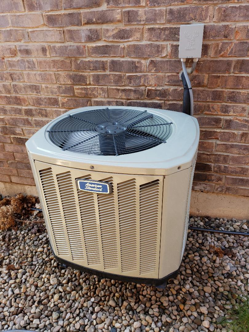 AC maintenance on American Standard unit