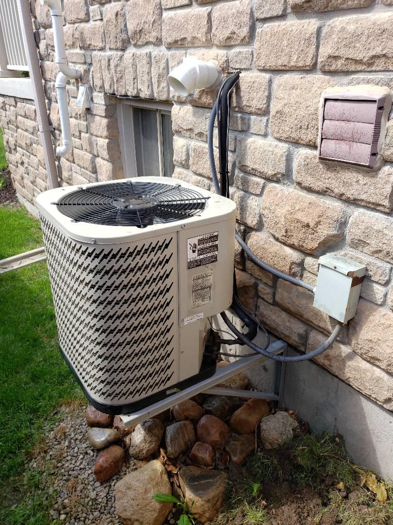 AC maintenance on Gibson unit