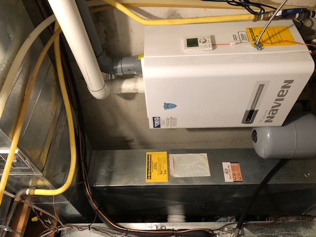 Vaughan, ON - Quoting New Goodman 1.5 Ton Air Conditioner and also a new 40,000btu Goodman Furnace and new 50gallon Power Vented Water Heater for an existing customer in Maple!