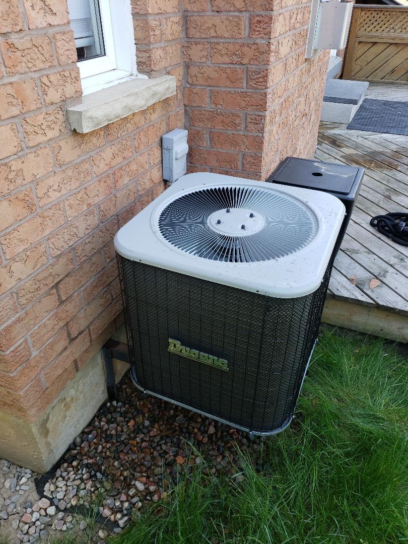 AC maintenance on Ducane unit