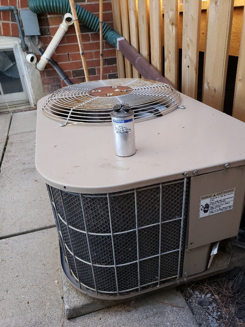 North York, ON - No cooling, replaced old capacitor