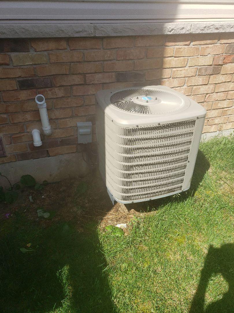 AC maintenance on Goodman Unit