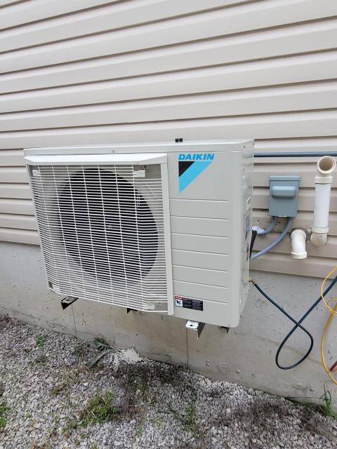 Innisfil, ON - INSTALLED A NEW DAIKIN FIT DX17VSS024 2 TON AIR CONDITIONER FOR A FAMILY FRIEND IN INNISFIL!