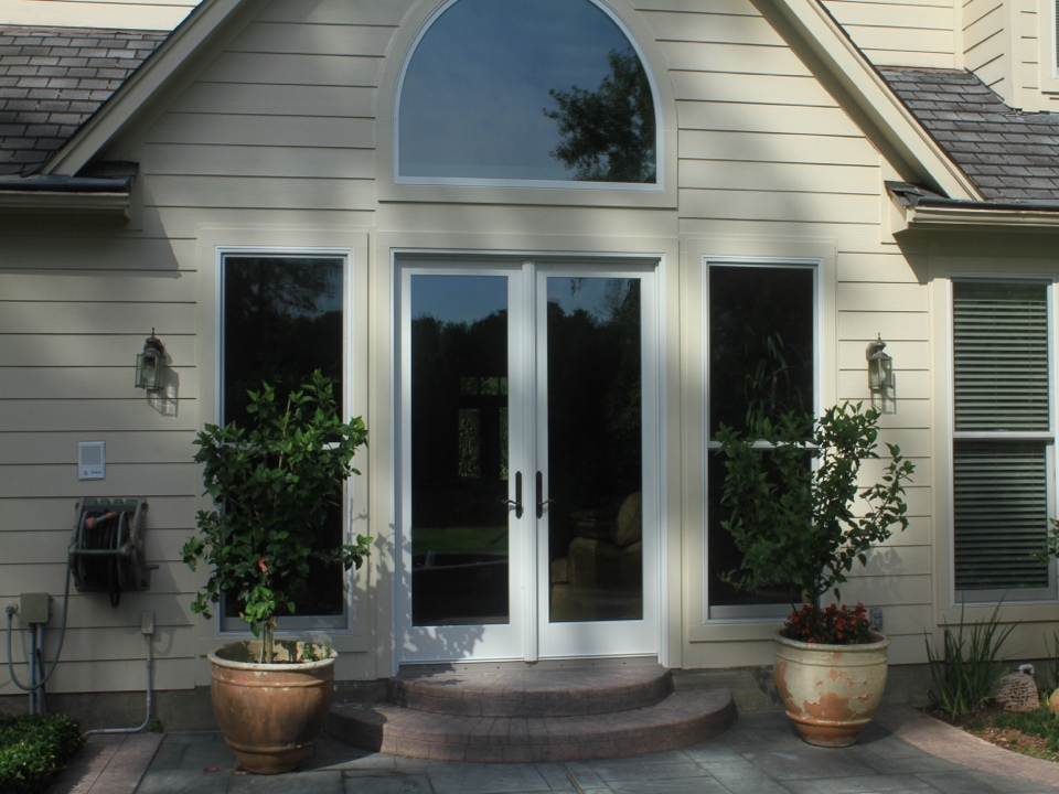 Tomball, TX - Frenchwood 8' door with construction