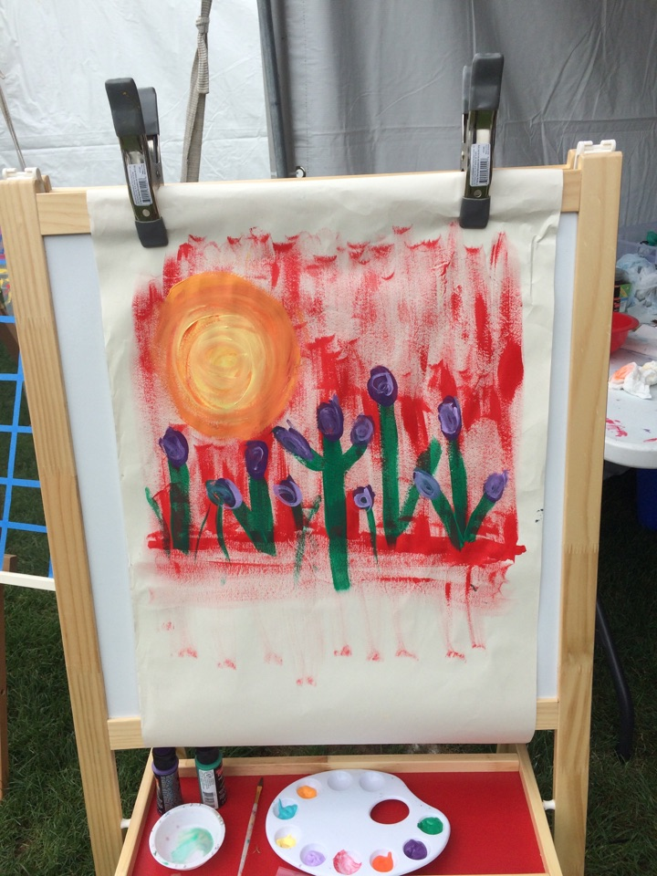Spring, TX - Come paint with the at The Woodlands Waterway Arts festival!