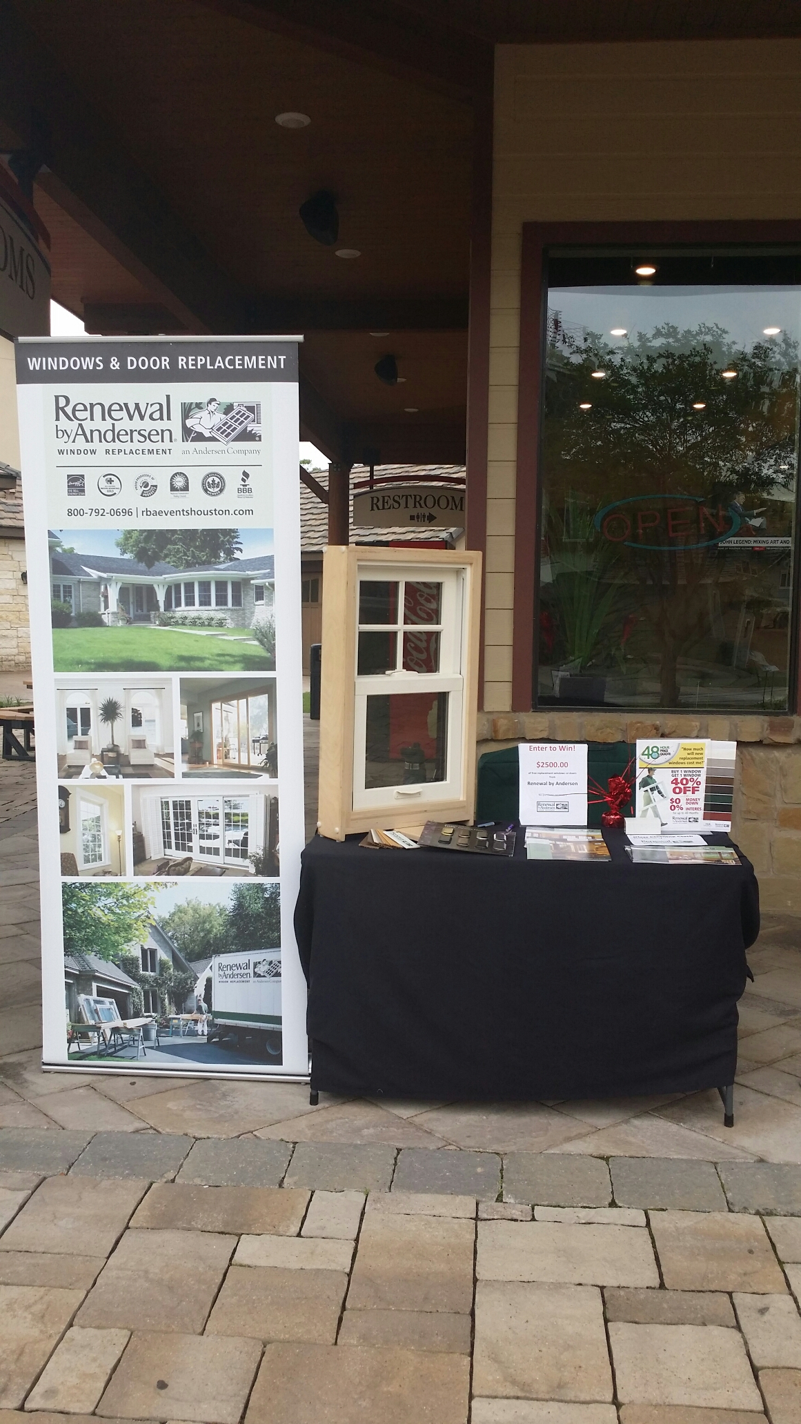 Spring, TX - Great day at Main Street America come drop by at our Tenewal by Andersen booth