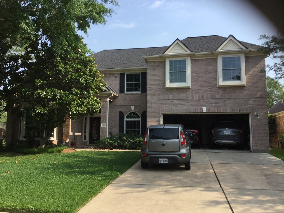 """Katy, TX - """"Our house is so much cooler and so quiet. We love our new Windows""""  The Bailey's"""
