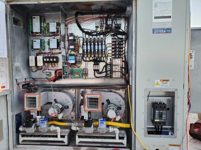 Oklahoma City, OK - We rebuilt this AAON 30-ton 100% outside air unit after the contactors caught fire. Today, it's running like a sewing machine. Thank you for trusting ProVision for your HVAC repairs.