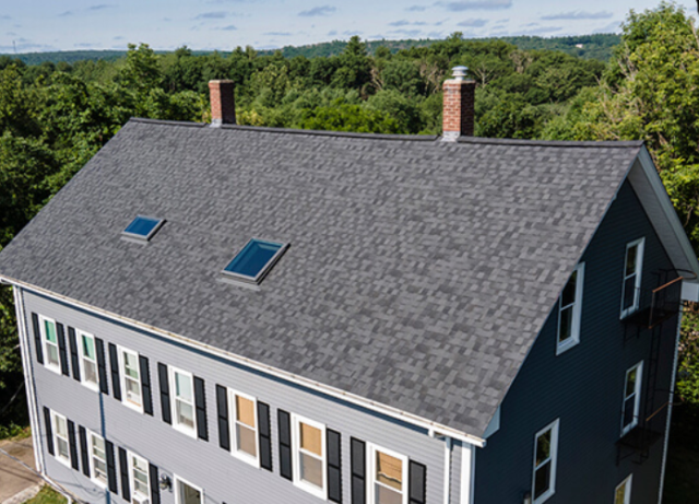 Uxbridge, MA - Residential roof replacement and roof installation for new home buyer. Top roofing company near me!