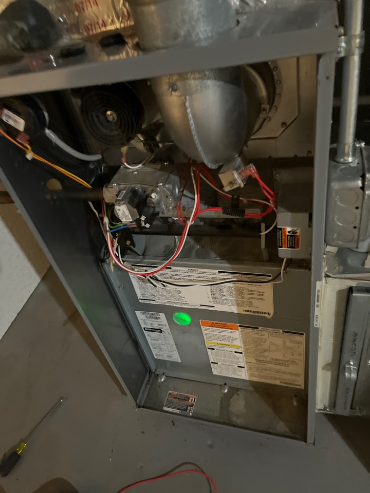 Southfield, MI - Heating call. Performed fuse repair on Kenmore system