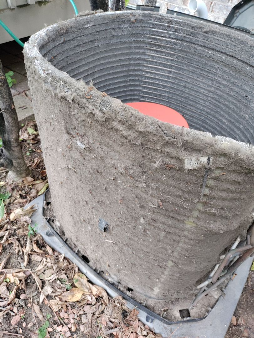Canton, MI - AC, coil cleaning and leak seal, Trane