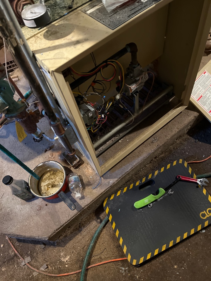 Ann Arbor, MI - Performed a thermocouple replacement on a Weil-McLain boiler