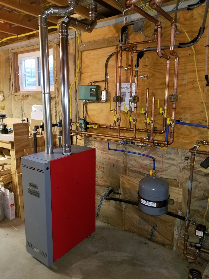 Freeville, NY - Replace failed boiler. Test safeties and combustion.