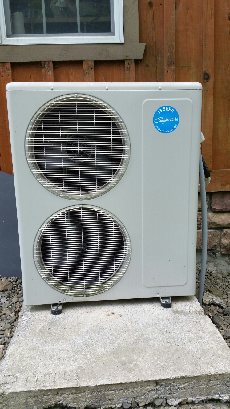 Richford, NY - Service Comfort Aire AC system.