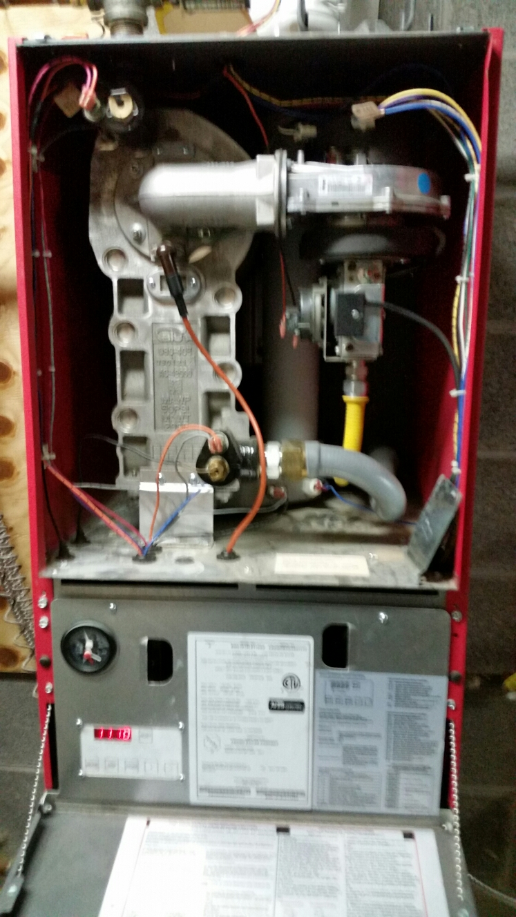 Berkshire, NY - Fix Crown gas wall mounted boiler failure.