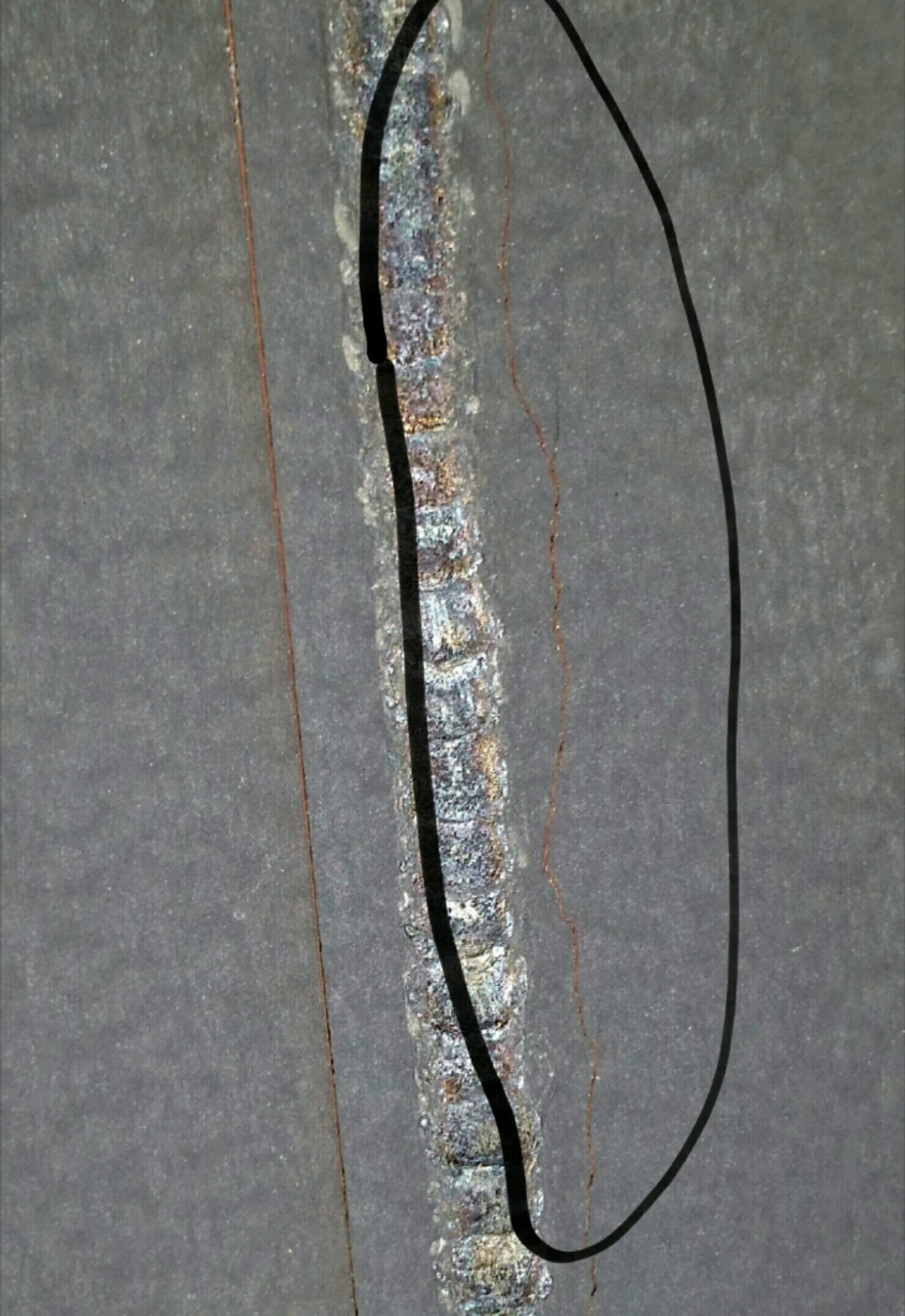 Freeville, NY - Found failed heat exchanger on Coleman mobile home furnace.
