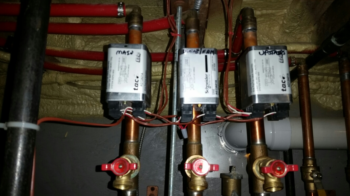 Ithaca, NY - Replace, rewire, and test failed Erie zone valve.