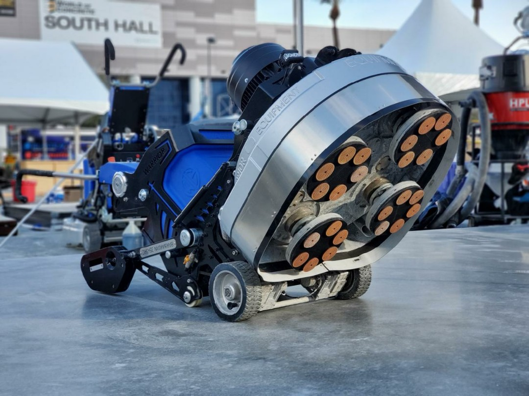 Cridersville, OH - Did you know you can rent or purchase our grinders? They are perfect for concrete surface preparation, coating removal, and concrete polishing!