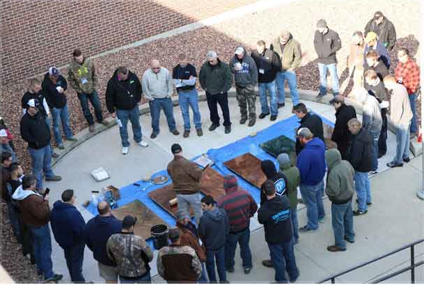 Sparks, NV - At The Concrete Protector, we provide various decorative concrete system training for our contractors to learn and achieve! Hands on with equipment and product use!!!