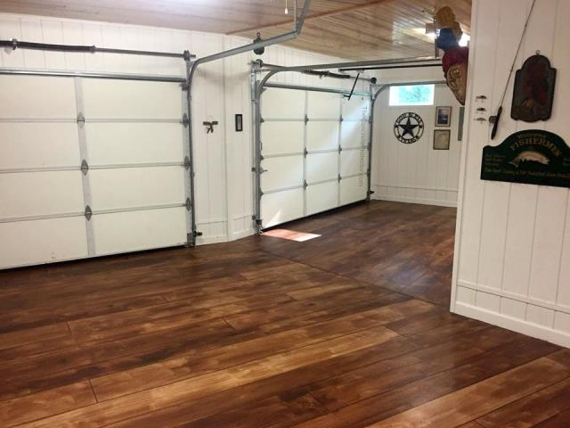 Transform an ugly concrete garage floor with our concrete wood system! Learn, hands-on, on how you can create floors in this system and more!!