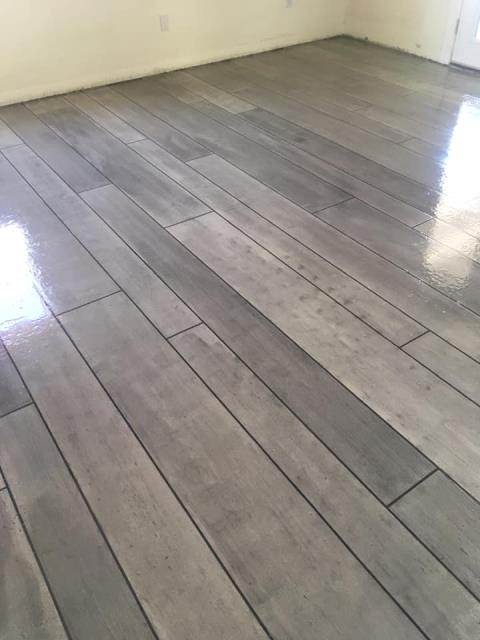 Dade City, FL - We had recently bought our first home and wanted to remodel the outdated floors inside. It would have cost us a fortune to do what we wanted if we paid someone. My husband came across The Concrete Protector online and saw that they offered free training to learn how you can do rustic wood on concrete and how more beneficial it was than hardwood. We decided to attend the classes and learned so much. The people at the Concrete Protector were so helpful. They rented out to us all the heavy machinery we needed and showed us how to use it all. They were there to help answer any questions we had day or night until the very end! Call these guys and check them out if you want to learn how you can do your floors and more too! Highly recommend this company and its employees. They definitely make you feel like family and not just another customer!