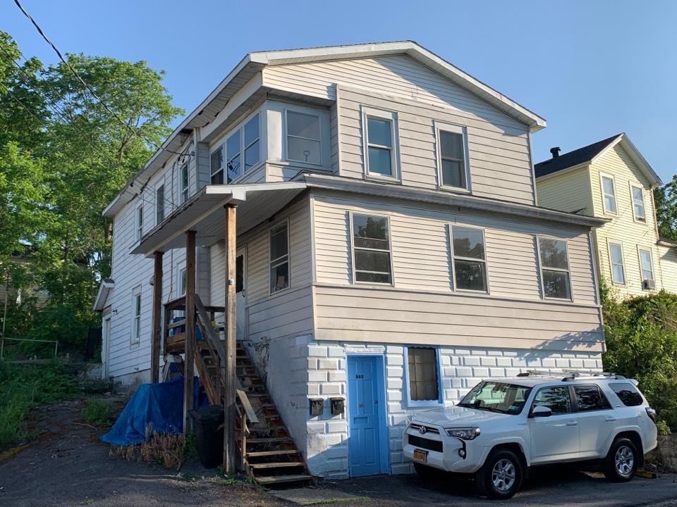 Solvay, NY - Fascia and soffit repair estimate