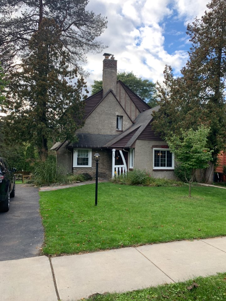 Syracuse, NY - New roof estimate. Cedar shake deck replacement.