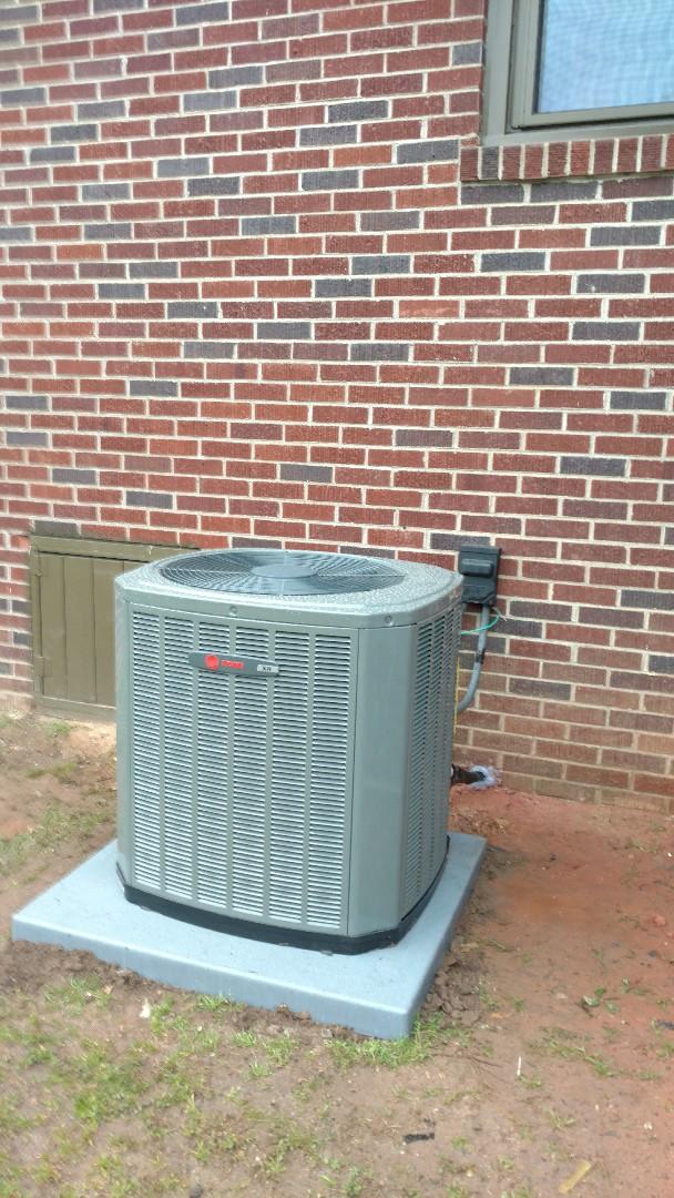 Greer, SC - Install new heat pump