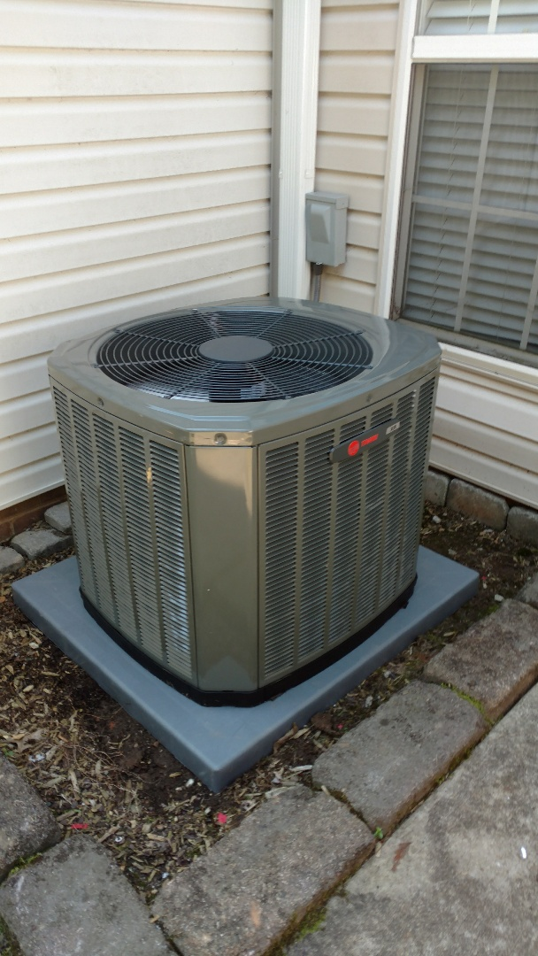 Greer, SC - Install new furnace and 16 seer air conditioner enlarged returns