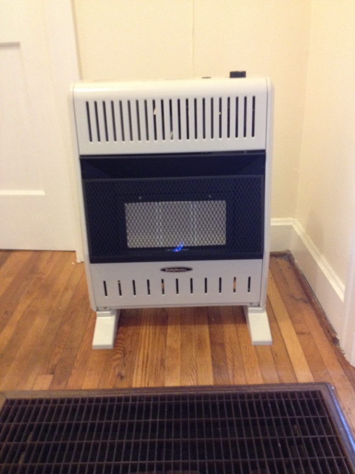 Eastanollee, GA - Installed two new gas wall heaters