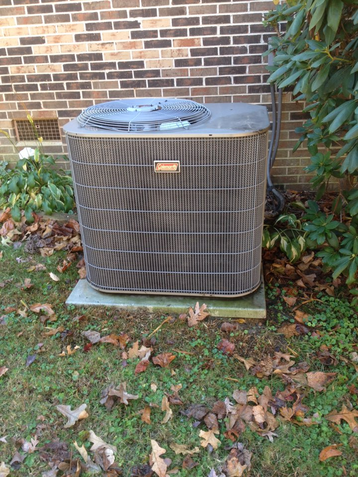 Toccoa, GA - Heating season check up on Coleman heat pump.