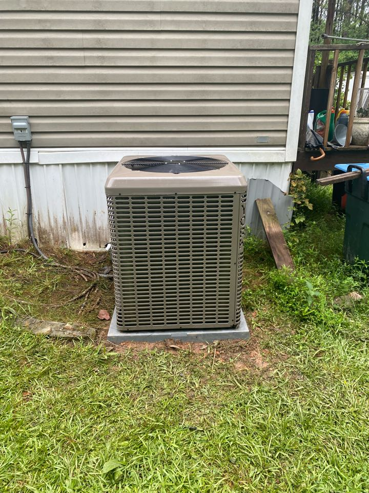 Toccoa, GA - New heat pump system removal of leaking indoor coil and out of date system